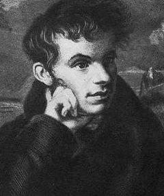 Портрет Жуковского в юности
